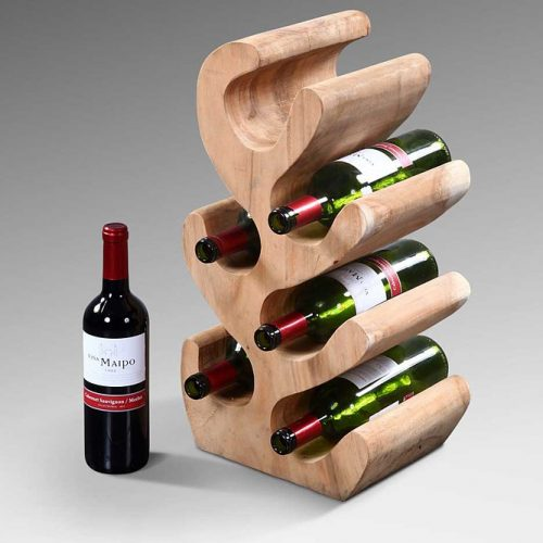 Cactus Bottle Rack- Medium