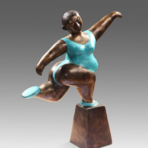 Gymnastic Lady