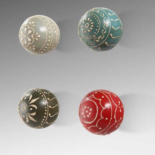 Knob Ornamentn Ball