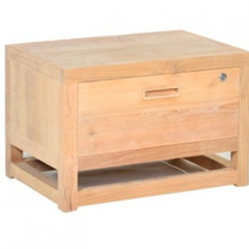 Security Bed Side Table