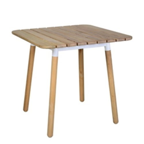 Boomerang Dining Table With Slat Top
