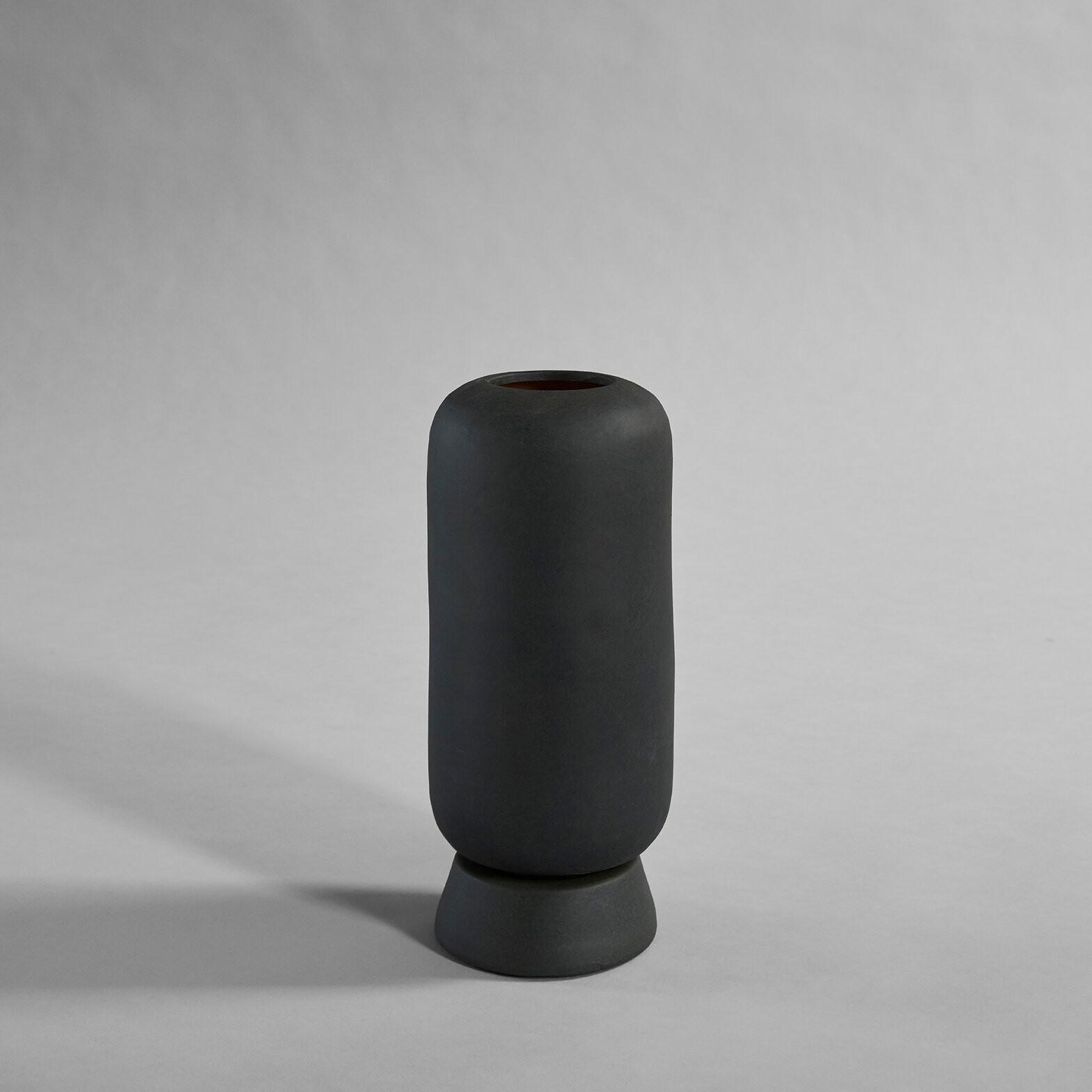 Kabin+Vase%2C+Small+-+Black